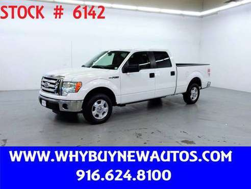 2011 Ford F150 ~ Crew Cab XLT ~ Only 34K Miles! for sale in Rocklin, CA