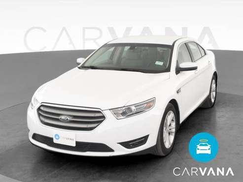 2018 Ford Taurus SEL Sedan 4D sedan White - FINANCE ONLINE - cars &... for sale in Albuquerque, NM