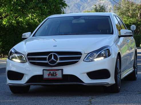 2016 Mercedes-Benz E350 Sport and Premium 1 Packages! FINANCING AVAIL! for sale in Pasadena, CA