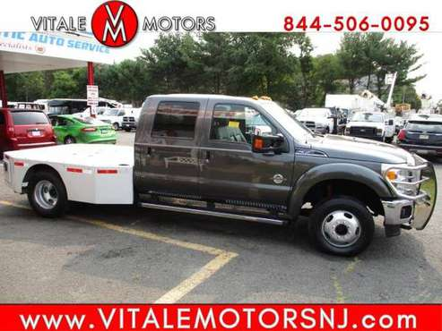 2016 Ford Super Duty F-350 DRW HAULER 5TH WHEEL ** LARAIT CREW CAB... for sale in south amboy, NJ