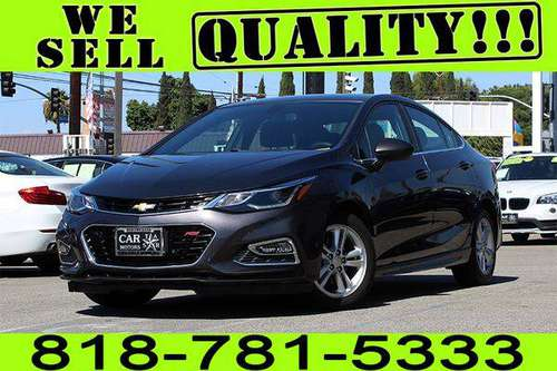 2017 CHEVY CRUZE LT **$0 - $500 DOWN. *BAD CREDIT 1ST TIME BUYER* for sale in Los Angeles, CA