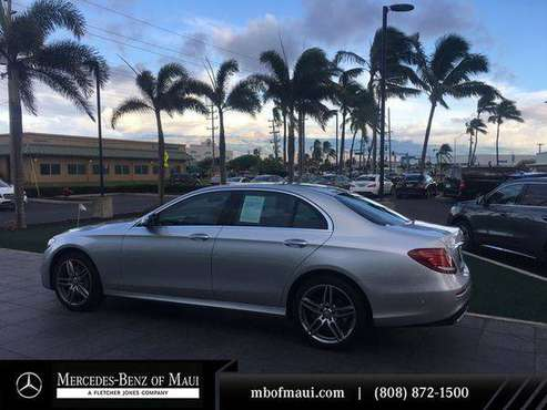 2017 Mercedes-Benz E-Class E 300 Luxury - EASY APPROVAL! for sale in Kahului, HI