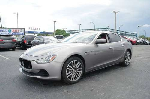 MASERATI GHIBLI (1,500 DWN) for sale in Orlando, FL
