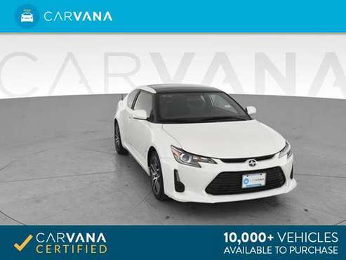 2016 Scion tC Hatchback Coupe 2D coupe White - FINANCE ONLINE for sale in Akron, OH