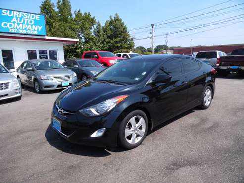 2013 HYUNDAI ELANTRA GLS!! 1.8L SEDAN WITH ONLY 66K MILES CLEAN CARFAX for sale in Norfolk, VA