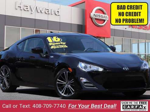 2016 Scion FRS Coupe - BAD CREDIT OK! for sale in Hayward, CA