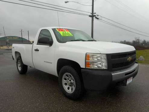 REDUCED!! 2010 CHEVY 1500 SILVERADO REGULAR CAB LONG BED 4X4 NEW TIRES for sale in Anderson, CA