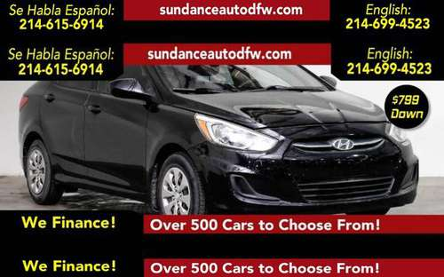 2016 Hyundai Accent SE -Guaranteed Approval! for sale in Addison, TX