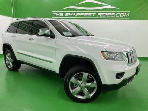 2013 Jeep Grand Cherokee 4x4 SUV Overland*4WD*FULL LOADED!! S48549 -... for sale in Englewood, CO