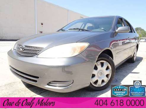 2004 *Toyota* *Camry* *4dr Sedan LE Automatic* Gray for sale in Doraville, GA