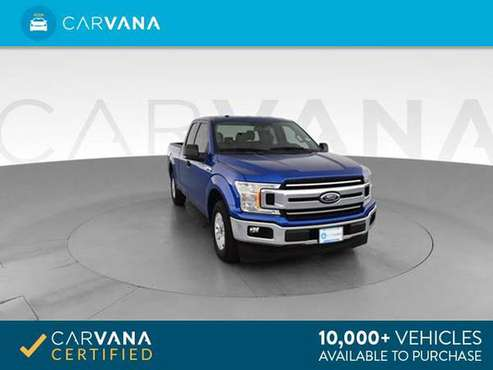 2018 Ford F150 Super Cab XLT Pickup 4D 6 1/2 ft pickup Blue - FINANCE for sale in Richmond , VA