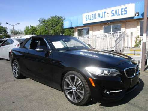 2015 BMW 228I CONVERTIBLE - RWD - BACK UP CAMERA - PARKING ASSIST -... for sale in Sacramento , CA