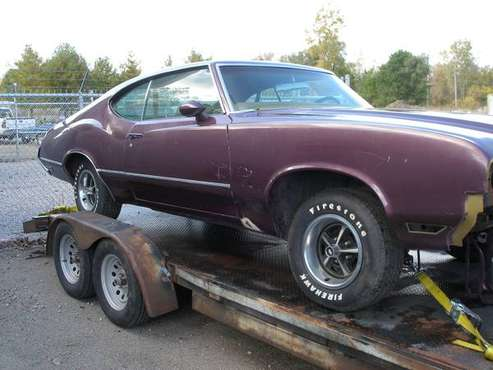 1970 Oldsmobile cutlass S coupe for sale in Lansing, MI