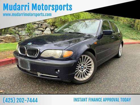2003 BMW 3 Series 330i 4dr Sedan CALL NOW FOR AVAILABILITY! for sale in Kirkland, WA