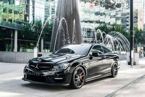 2012 Mercedes C63 AMG P31 Pkg*Eurocharged 540HP*Carbon Fiber*MUST SEE! for sale in Dallas, FL