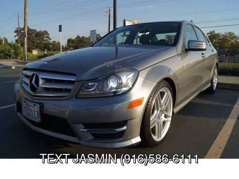 2013 Mercedes-Benz C-Class C 250 low miles C250 LOADED WARRANTY * NO... for sale in Carmichael, CA