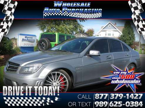2010 Mercedes-Benz C-Class 4dr Sdn C 63 AMG RWD for sale in Frankenmuth, MI