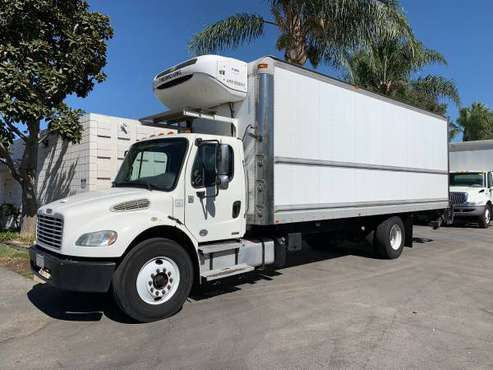 2013 Freightliner M2 26' Reefer Truck Alum GPT Liftgate CARB Compliant for sale in Riverside, CA