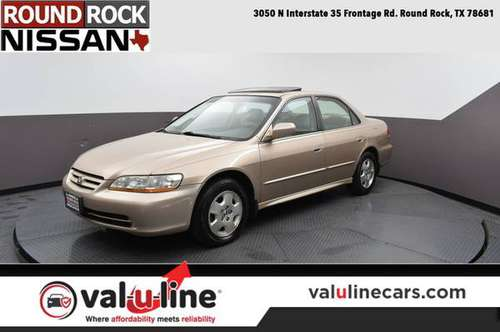 2002 Honda Accord Sdn Naples Gold Metallic *Priced to Go!* for sale in Round Rock, TX
