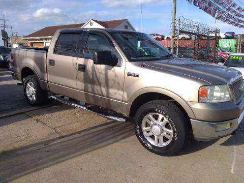 2004 F150 LARIAT LEATHER SEATS AND MOONROOF!! 4DR CREW CAB for sale in PHILADLPHIA, PA