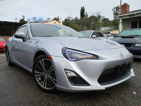 2015 Scion FR-S - Clean CARFAX 6-Speed Manual Tranny Excellent Condit. for sale in Spring Valley, CA