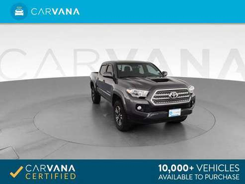 2016 Toyota Tacoma Double Cab TRD Sport Pickup 4D 5 ft pickup Gray - for sale in Indianapolis, IN