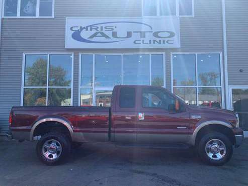 2005 Ford Super Duty F-350 F350 F 350 SRW 4WD Diesel w/ Lariat... for sale in Plainville, CT