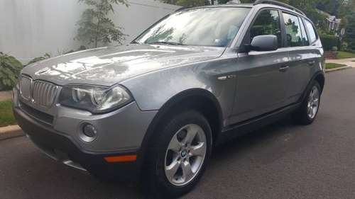 2007 BMW X3 70K .SILVRR/BLACK. CLEAN TITLE for sale in Westbury , NY