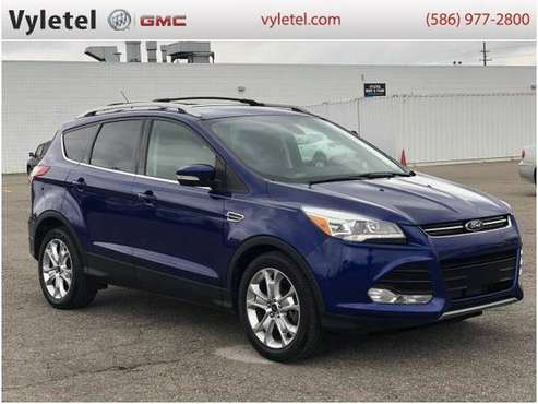 2014 Ford Escape SUV FWD 4dr Titanium - Ford Deep Impact Blue - cars... for sale in Sterling Heights, MI