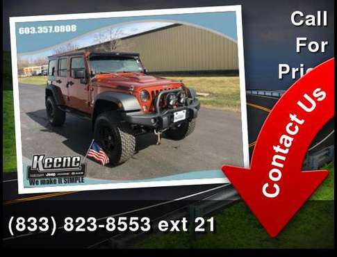 2014 Jeep Wrangler Unlimited AEV SOLD - cars & trucks - by dealer -... for sale in Keene, NH