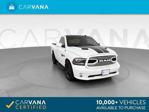 2018 Ram 1500 Regular Cab Sport Pickup 2D 6 1/3 ft pickup White - for sale in Greensboro, NC