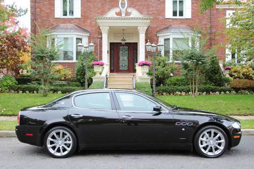 2006 MASERATI QUATTROPORTE EXECU GT F1 BLK/BLK ONLY 27K MILES FINANCE for sale in Brooklyn, NY