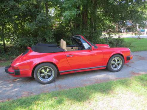 Price slashed for quick sale.... Porsche 911 Carrera Cabriolet 1989 for sale in eastern NC, NC