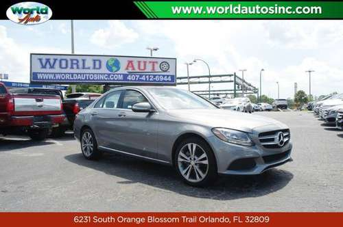 2015 Mercedes-Benz C-Class C300 4MATIC Sedan $729 DOWN $75/WEEKLY for sale in Orlando, FL