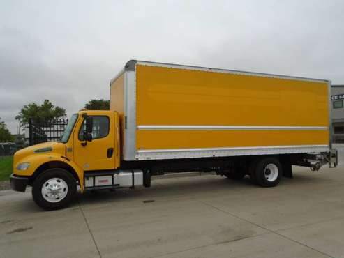 2014 Freightliner 24'-26' (Box Trucks) W/ Lift Gates and Walk Ramps for sale in Dupont, NE