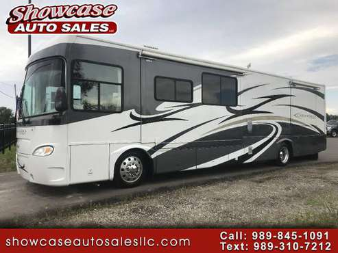 SEATS EVERYBODY!! 2006 Gulf Stream Crescendo 8386 CRE 40FT for sale in Chesaning, MI