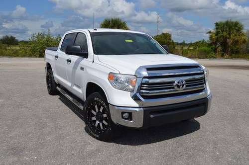2017 Toyota Tundra SR5 Crew Cab 2wd (8Cyl 5.7L) 77k Miles-Florida Ownd for sale in Arcadia, FL