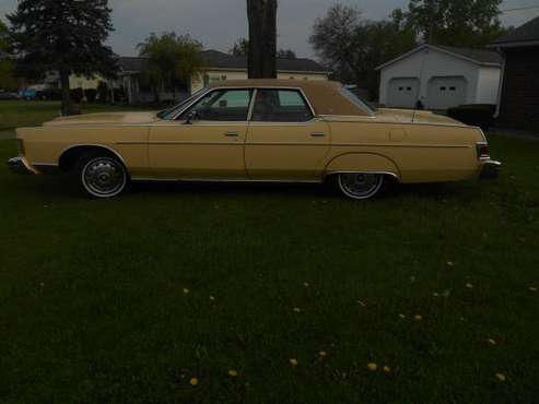 1978 Mercury for sale in defiance Ohio, IN