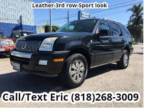 2006 Mercury mountaineer luxury **3rd row** *leather* *sunroof* for sale in Van Nuys, CA