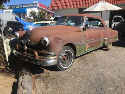 1952 Pontiac 2 door hardtop - cars & trucks - by owner - vehicle... for sale in Vista, CA