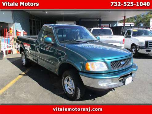 1997 Ford F-150 REG CAB 4X4 LING BED 49K MILES for sale in south amboy, NJ