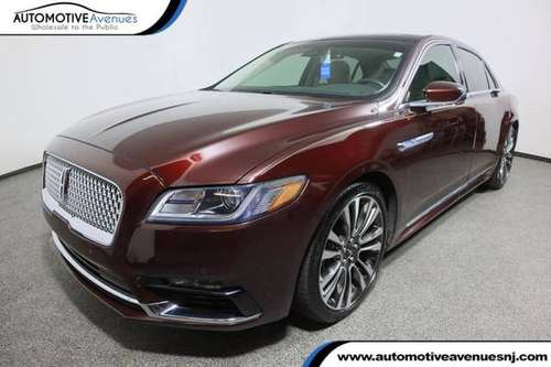 2017 Lincoln Continental, Burgundy Velvet Tinted Clearcoat - cars &... for sale in Wall, NJ