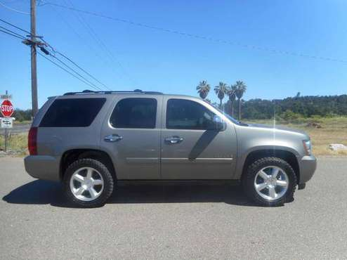 2008 CHEVY TAHOE 4X4 LTZ LOADED ALL OPTIONS! NICE!!! for sale in Anderson, CA