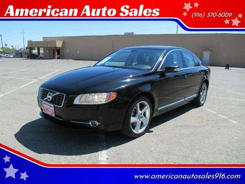 2010 Volvo S80 T6 AWD 4dr Sedan - FREE CARFAX ON EVERY VEHICLE for sale in Sacramento , CA