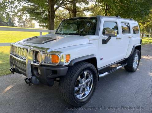 2006 *HUMMER* *H3* *4dr 4WD SUV* Birch White/LOADED! for sale in Bloomington, IL