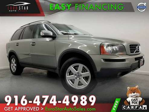 2007 VOLVO XC90 I6 AWD ALL WHEEL DRIVE / FINANCING AVAILABLE!!! for sale in Rancho Cordova, CA