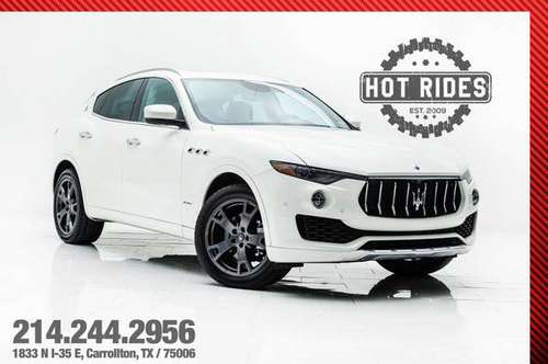 2018 *Maserati* *Levante* *GranLusso* for sale in Carrollton, TX