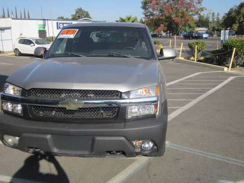 2003 CHEVY AVALANCHE for sale in Turlock, CA