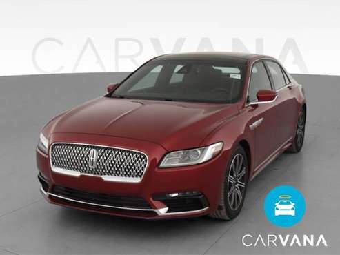 2017 Lincoln Continental Reserve Sedan 4D sedan Red - FINANCE ONLINE... for sale in milwaukee, WI