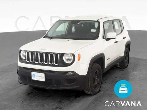 2015 Jeep Renegade Sport SUV 4D suv White - FINANCE ONLINE - cars &... for sale in San Bruno, CA